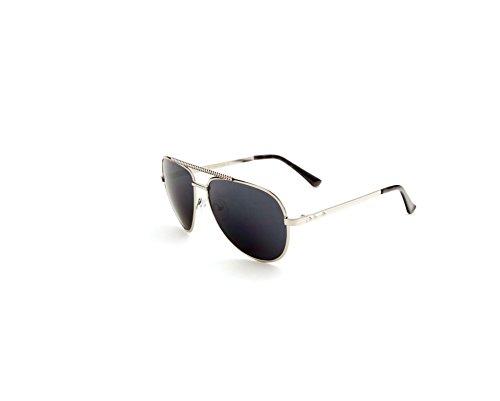 - FASHION AVIATIOR SUNGLASSES STUDS SILVER Style Classic Aviator Sunglasses, Polarized, 100% UV protection