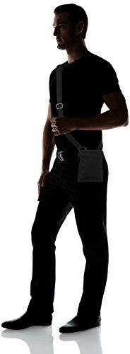 Calvin Klein Metro Mini Flat Crossover, Bolso para Hombre, Talla Única Negro