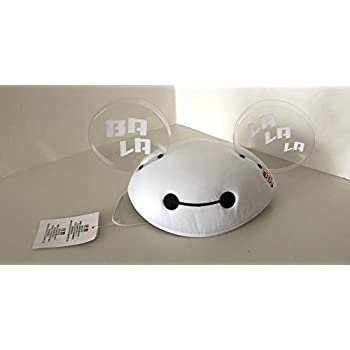 Amazon.com  Disney Parks Big Hero 6 Baymax Mickey Mouse Ears Hat ... 6aebfc0a5649