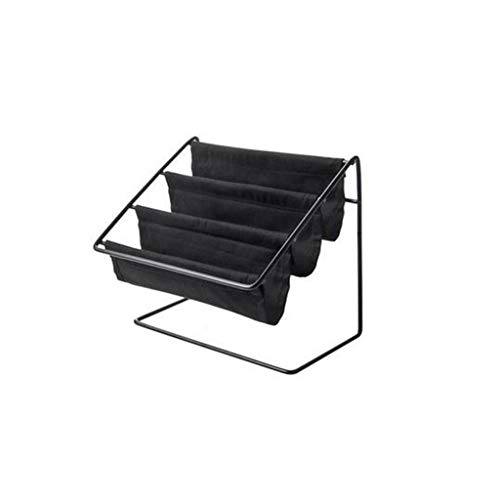 (1KTon Desktop Wrought Iron Glasses Frame Household Debris Stationery Storage Rack)