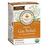 Traditional Medicinals Organic Herbal Teas Gas Relief – 16 Tea Bags Review