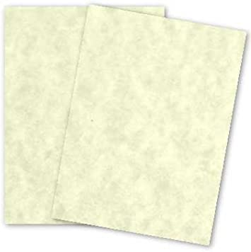 Printable Old Parchment Semblance 50 Old White Parchment 65lb Cover Weight Paper 8.5 X 11 Inches Cardstock Colored Sheets Letter Size