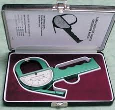 Seko USA Lange Skinfold Caliper with Case, Green ()