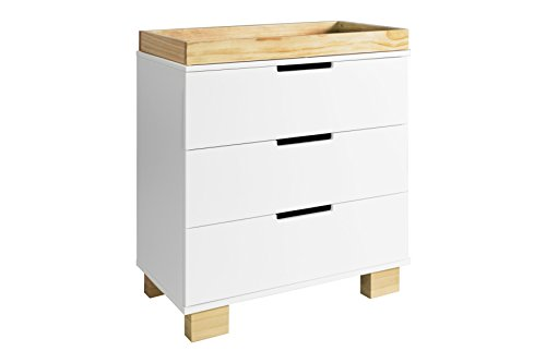 White 3 Drawer Dresser Chest - 9