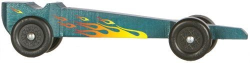 amazoncom yellow flames pinewood derby car decals toys games