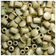 WIDGETCO 3/16'' and 5mm Honey Brown Hole Plugs
