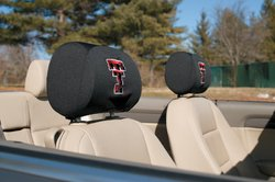 BSI Products, Inc. - Texas Tech Red Raiders-Headrest Covers Set Of 2