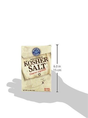 Natural Tides Mediterranean Kosher Salt, 2.2-Pounds (Pack of 6) by Natural Tides (Image #7)