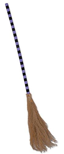 Beistle Witch-Feet Broom, 3-Feet 6-Inch