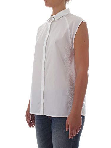 Pinko 1b138f6716z04 Coton Femme Chemise Blanc rOqaArBw