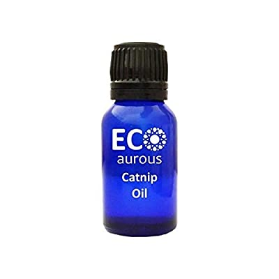 CatNip for Cats Catnip Oil 100% Natural, Organic, Vegan & Cruelty Free Catnip Essential Oil By Eco Aurous (10ml  [tag]