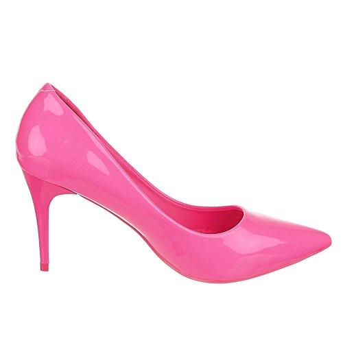 Ital-Design - Zapatos de vestir de Material Sintético para mujer Rosa - rosa
