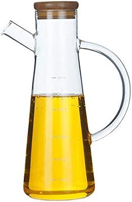 BWYFGRT 500 ml de Vidrio de borosilicato, Aceite de Oliva, vinagre ...