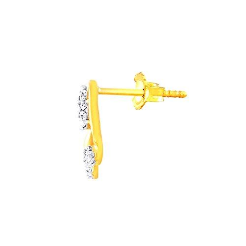 Giantti Diamant pour femme pendantes Boucles d'oreilles (0.24CT, VS Clarté, Gh-colour)