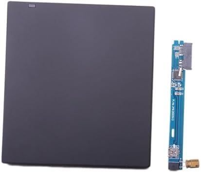 H HILABEE Estuche SATA To USB con Caja Externa para CD-ROM De 9,5 Mm, Unidad De DVD-RW para Computadora Portátil: Amazon.es: Electrónica