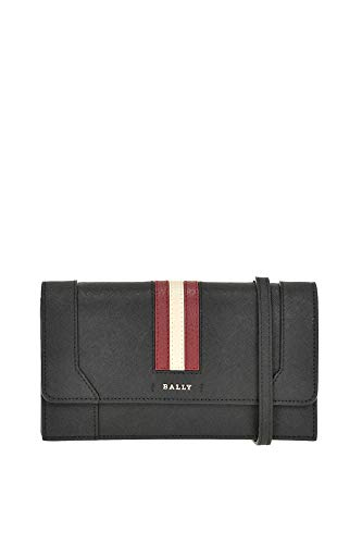 Women's Leather Bally Black Clutch MCGLBRE000004074I tdOqOR