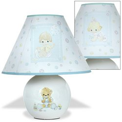 Precious Moments Ceramic Nursery Lamp by Precious Moments