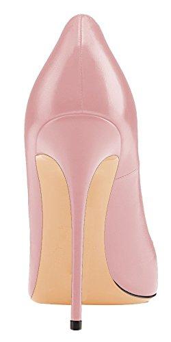Ubeauty Escarpins Taille Femme Stilettos Talon Grande Femmes Aiguille Rose Talons Chaussures Pu rrwd0q