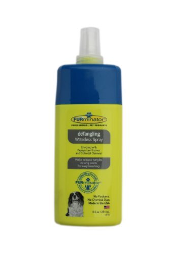 FURminator deTangling Waterless Spray (Furminator Dog Conditioner compare prices)