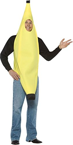 Morris Costumes Banana Lightweight Over Head Tunic Teen (Over The Head Banana Costumes)