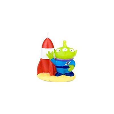 Toy Story Game Time Birthday Candle Molded Candle (1 per package) by Hallmark: Toys & Games