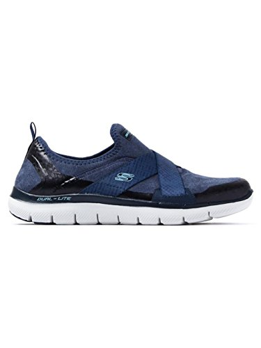 Skechers Ladies Flex Appeal 2.0-bright Eyed Instructor Blu Scuro