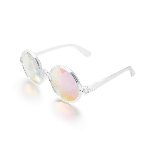 DODOING Deals, Festivals Kaleidoscope Glasses for Raves - Goggles Rainbow Prism Diffraction Crystal Lenses