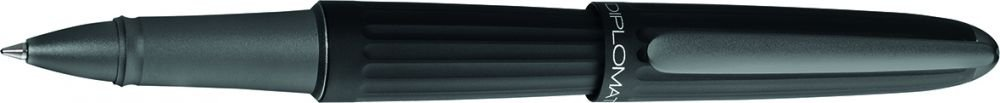 Diplomat Aero Black Rollerball, Felt Pen, or fineliner