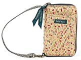 Bella Taylor Allegiance Quilted Cotton Wristlet Wallet, Bags Central