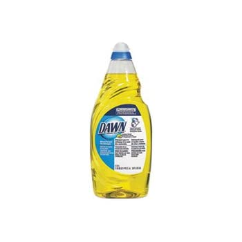 Manual Pot & Pan Dish Detergent, Lemon, 38 oz Bottle