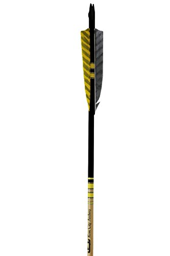 Rose City Archery Port Orford Cedar Extreme Elite Arrows with Clear Lacquer Shaft, 3