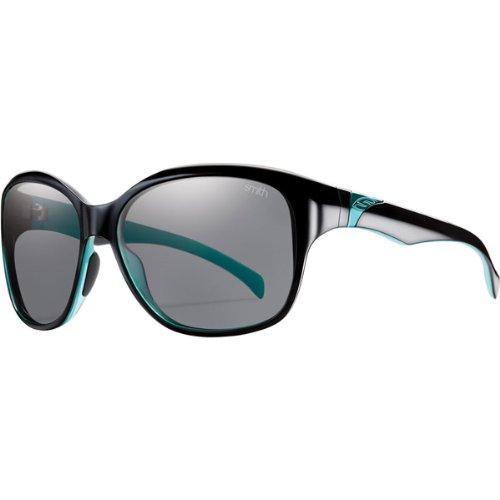 Smith Optics Jetset Premium Lifestyle Polarized Sports Sunglasses - Black Lagoon/Gray / Size 58-15-125