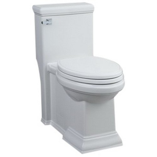 American Standard 2847.128.020 Town Square FloWise  RH Elongated One Piece Toilet, White