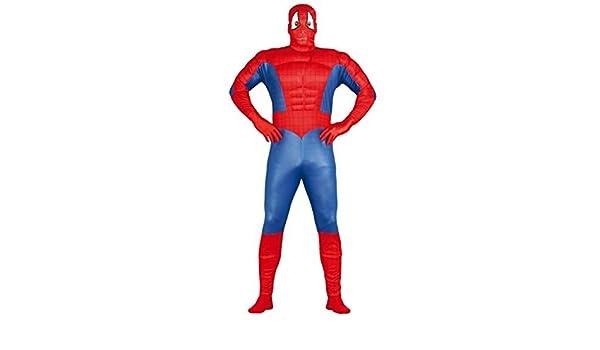 Disfraz de superhéroe musculoso adulto: Amazon.es: Juguetes y juegos