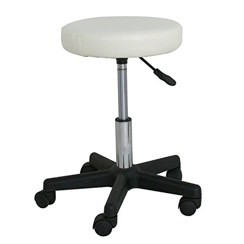 F2C Leather Adjustable Bar Stools Swivel Chairs Facial Massage Spa Salon Stool...