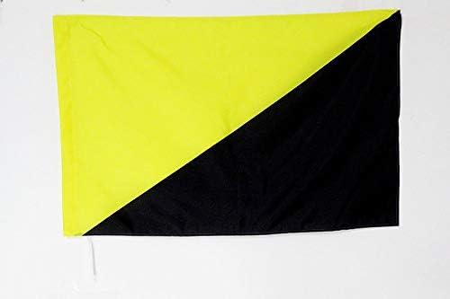 AZ FLAG Bandera del ANARCOCAPITALISMO 150x90cm para Palo ...
