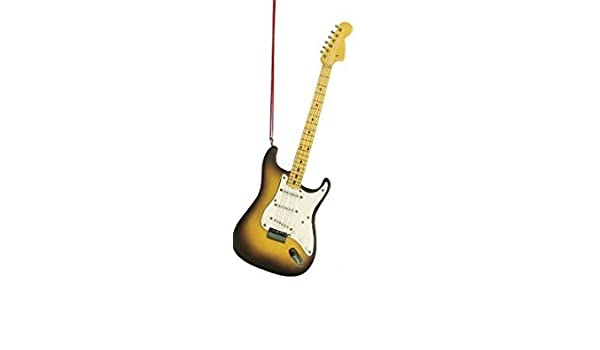 Adorno de guitarra eléctrica - en caja de regalo: Amazon.es: Hogar