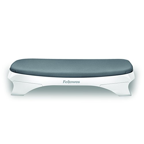 Fellowes I-Spire Series Foot Cushion/Rest, White/Gray (9311701) by Fellowes (Image #2)
