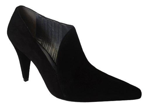 Kenneth Cole Donna Retro Chich In Camoscio Stivali Con Tacco Shoesbn-7.5b