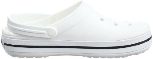 Adulte Band Crocs Blanc Sabots Mixte White Clog IUqdU