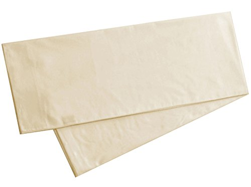 American Pillowcase Body Pillowcase, 100% Cotton, 300 Thread Count, 21x60 Pillow Cover, Many Colors - fits 20 x 54 and 20 x 52 (Ivory, Body 21x60, 20x54, 20 x 54)
