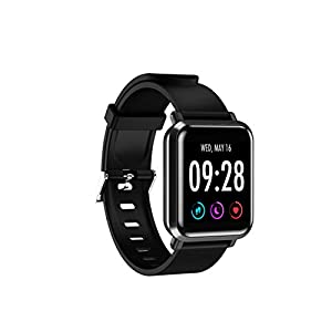 AQFIT Full Touch Multifunction Smart Watch W10 (Black)