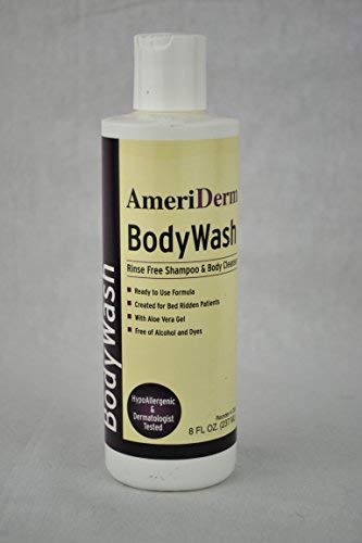 ADM265 - Ameriderm BodyWash Rinse-Free Shampoo and Body Cleanser, 8 oz.