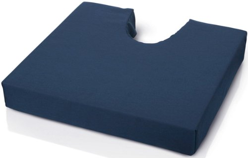 - Medline Foam Cushion with Coccyx Cut Out