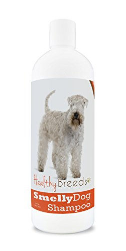Healthy Breeds Smelly Dog Deodorizing Shampoo & Conditioner with Baking Soda for Soft Coated Wheaten Terrier - Over 200 Breeds - 8 oz - Hypoallergenic for Sensitive Skin
