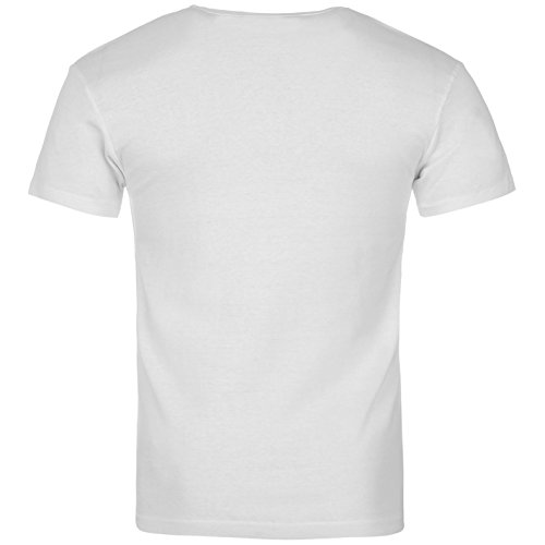 aladdin Sane Homme White David white T Bowie shirt Wh Amplified YnOES0xO