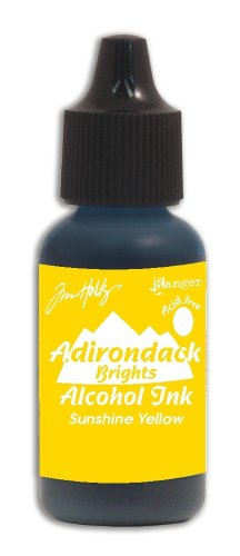 Ranger Ink Tim Holtz Adirondack Alcohol Ink Brights Singles: Sunshine Yellow