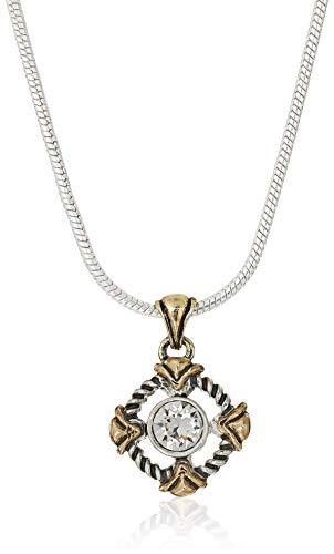 Napier Women's Silver-Tone Swarovski Crystal Neck/Ear Jewelry Set