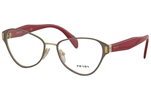 Prada PR58UV - EFX1O1 Eyeglass Frame TOP GREY/PALE GOLD ()