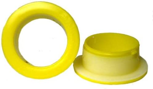 Reusable Hand Savers Plastic Dispenser for 3 Core Hand Stretch Wrap Yellow Color 50 Pairs